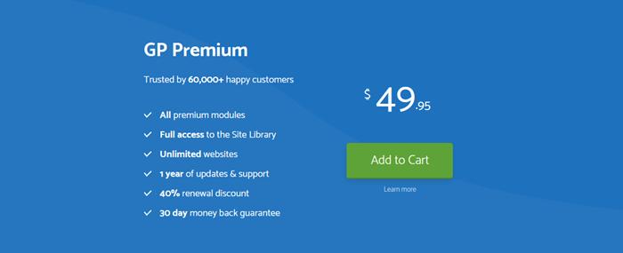 GeneratePress Premium plugin.